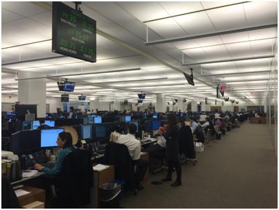 Goldman Sachsのトレーディングルーム