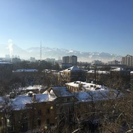 アルマティ/カザフスタン ~冬のアルマティ~
