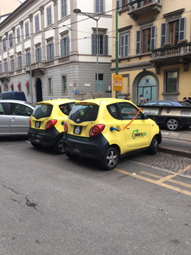 Car sharing GO (Photo by the writer)
