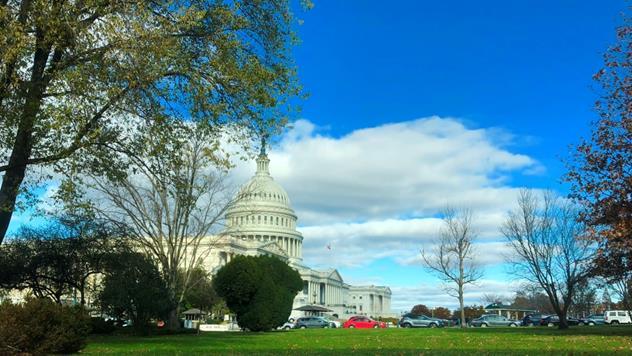 2018年11月、中間選挙を終えレームダック会期に入った米議会(筆者撮影)