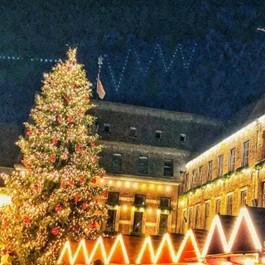 14世紀に始まったクリスマスマーケット(撮影:西原陽子)