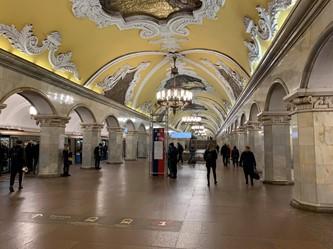 モスクワ/ロシア ~路線拡大と近代化が進むモスクワ地下鉄~
